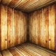 Stock Photo: Wall and floor siding weathered wood background