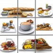 Food Collage — Stock Photo #6608114