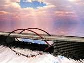 The bridge — Stock fotografie