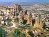 The fairy chimneys in Cappadocia — Stock Photo