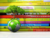 Life science and earth to school — Stock Photo