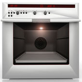 Convection oven — Stock Photo