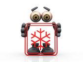 Snow symbol — Stock Photo