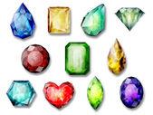 Piedras preciosas — Foto de Stock