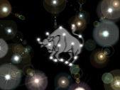 Taurus. Zodiac sign. — Stock Photo