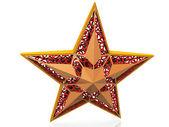 Gouden ster — Stockfoto