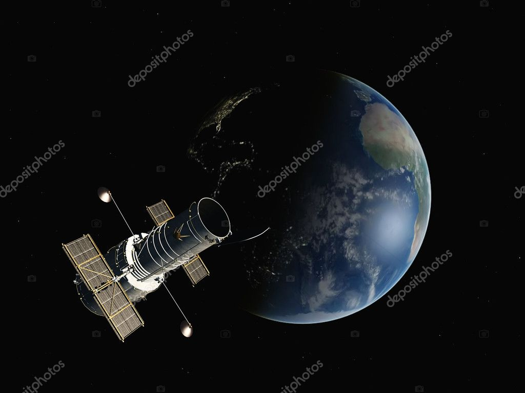 Earth on a background of stars  Stock Photo #6606941