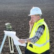 Stock Photo: Surveyor