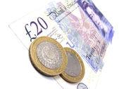 Brittish pounds — Stock Photo