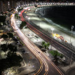 Rio de Janeiro - CopaCabana by night - Stock Photo