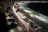 Rio de Janeiro - CopaCabana by night — Stock Photo