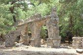 Aqueduct ruin, Phaselis — Stock Photo