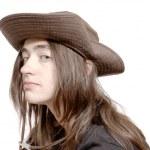 Portrait in hat — Stock Photo #6710839