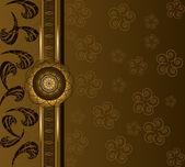 цветочная роскошь фона — Cтоковый вектор