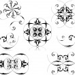 Floral elements set - 