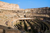 View of inside the Colosseum — Stock Photo