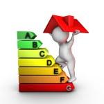 Improving home energy performance — Stock Photo