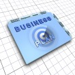 Business plan document: Process of planning ahead for success — Stock Photo