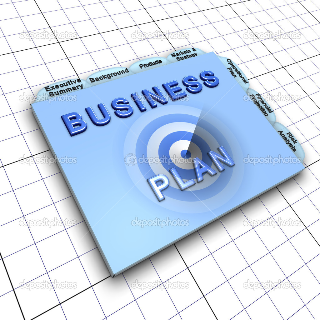 Business plan document: Process of planning ahead for success — Stock Photo #6590953