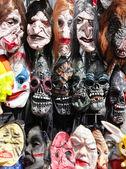 Horror masks — Stock Photo