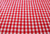 Tablecloth fabric — Stock Photo