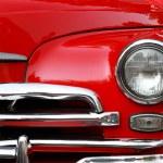 Car headlight — Stock Photo