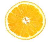 Orange over white — Stock Photo