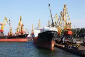 Industrial port — Stock Photo