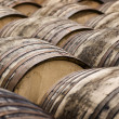 Whiskey Barrels - Stock Photo