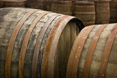 Whiskey Barrels — Stock Photo