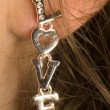 Earring — Stockfoto