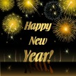 Vector de stock : Happy New Year