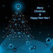 Royalty-Free Stock Векторное изображение: Merry Christmas and Happy New Year