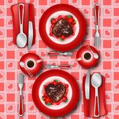 Love's dessert — Stock Photo