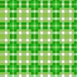 Tablecloth tartan pattern — Stock Vector