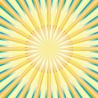 Stock Vector: Abstract sun rays