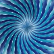 Blue Spiral vortex — Stock Vector