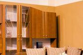 Modern student room interior — Stock Photo