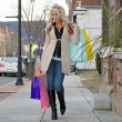 Royalty-Free Stock Photo: Pretty Blonde Shopper