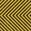 Royalty-Free Stock Photo: Construction Hazard Stripes