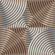 Stock Photo: Circular Metal Pattern