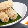 Stock Photo: Crunchy Thai Egg Rolls