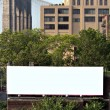 City Billboard Ad Space - Stock Photo