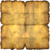 Burnt Parchment Paper — Stock Photo