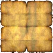 Burnt Parchment Paper — Stock Photo
