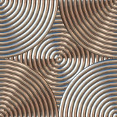 Circular Metal Pattern — Stock Photo