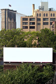 City Billboard Ad Space — Stock Photo
