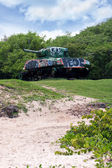 Flamenco Beach Army Tank — Stock Photo