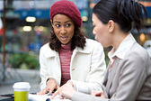 Women Meeting for Business — Stock Photo