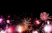 Fireworks Grand Finale — Stock Photo
